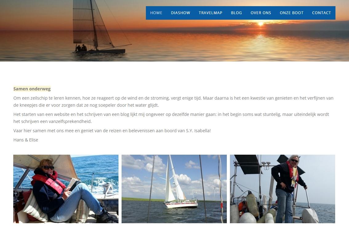 Sailing Yacht Isabella