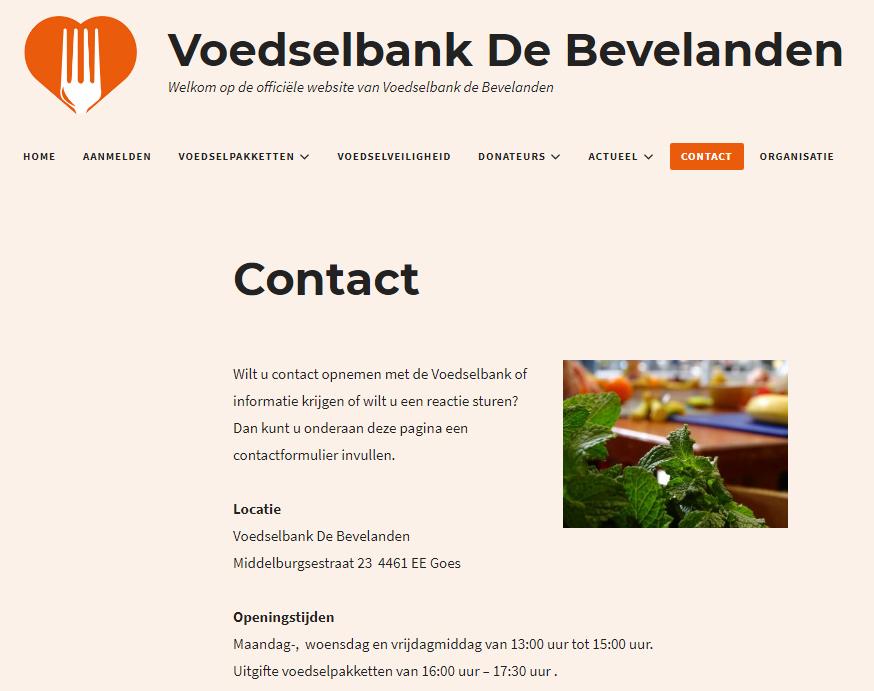 Voedselbank De Bevelanden